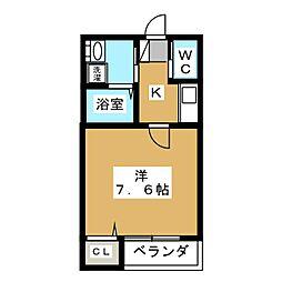 仮)室見AP[1階]の間取り