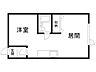 間取り,1DK,面積25.92m2,賃料2.5万円,バス くしろバス芦野2丁目下車 徒歩3分,,北海道釧路市芦野2丁目