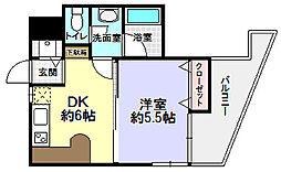 ダサル・ダマイ・UND[4階]の間取り