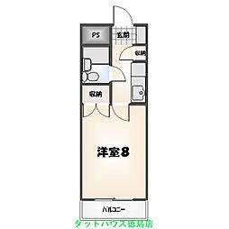 元木ハイツ[305号室]の間取り