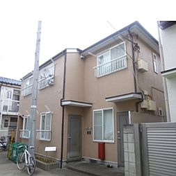 東京都渋谷区上原1丁目の賃貸アパートの外観