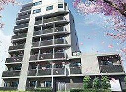東京都中野区松が丘2丁目の賃貸マンションの外観