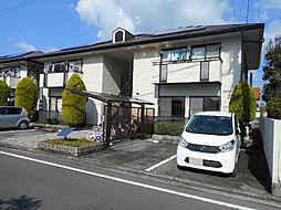 愛媛県松山市土居田町の賃貸アパートの外観
