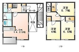 メゾンクニエダI[2階]の間取り
