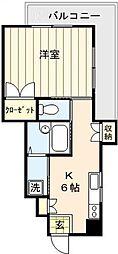 メゾン桜[401号室号室]の間取り