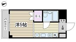 パークサイド横山[207号室]の間取り
