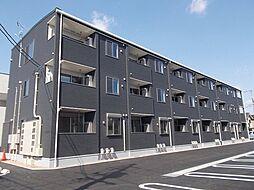 広島県福山市新涯町5の賃貸アパートの外観
