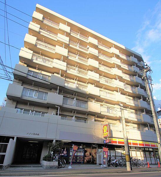 メゾン長喜城[6階]の外観