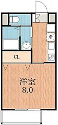 プラタ3[2階]の間取り
