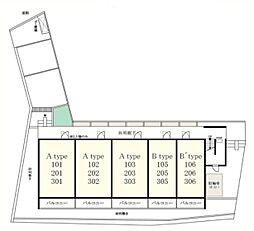 リブリ・ロココ[3階]の外観