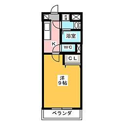 ブライトタイム I[3階]の間取り