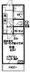 グランドステージ横須賀[205号室]の間取り