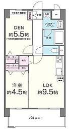 海老江サンライズ[4階]の間取り
