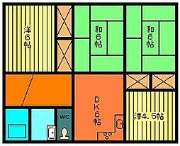 [一戸建] 宮崎県都城市早水町 の賃貸【宮崎県 / 都城市】の間取り