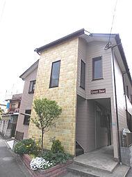 埼玉県蕨市中央7丁目の賃貸アパートの外観