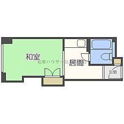 チサンマンション札幌第3[5階]の間取り