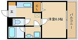 クレールトキワ[2階]の間取り