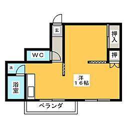 ナゴヤマンション今池[7階]の間取り