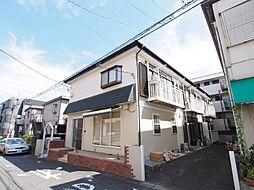 神奈川県川崎市多摩区登戸新町の賃貸アパートの外観