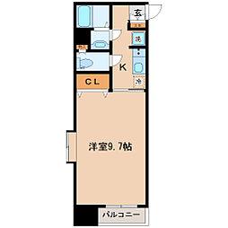 プランドビル本町[6階]の間取り