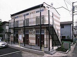 東京都町田市小川5丁目の賃貸アパートの外観