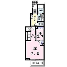 クレメントII[1階]の間取り