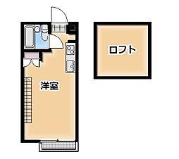 セゾン103[25号室]の間取り