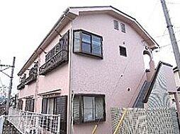 埼玉県入間郡毛呂山町前久保南1の賃貸アパートの外観