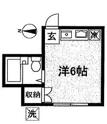 ランドフォレスト調布[2階]の間取り