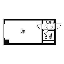アート茅ヶ崎[403号室]の間取り