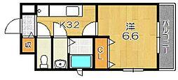 グランスクエア千代原口[2階]の間取り