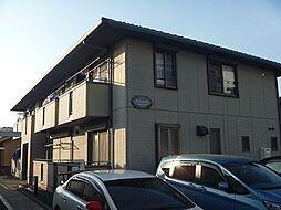 東京都日野市石田2丁目の賃貸アパートの外観