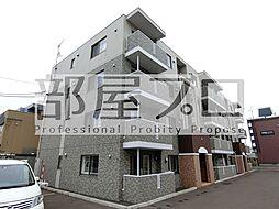北海道札幌市北区北二十二条西8丁目の賃貸マンションの外観