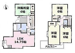 江戸川区大杉5丁目・価値住宅 4LDKの間取り