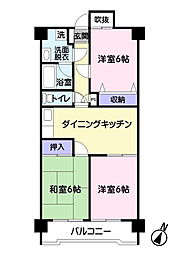 藤プラザ[5階]の間取り