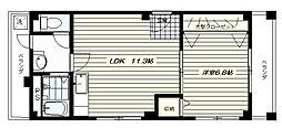 第2三協ビル[2階号室]の間取り