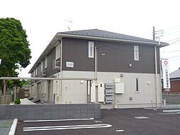 千葉県市原市山倉の賃貸アパートの外観