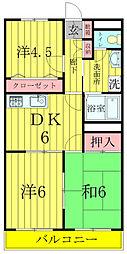 柏央ビル[603号室]の間取り