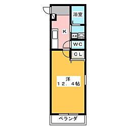 仮)ファンロジュマンII[1階]の間取り