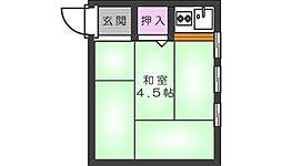千寿荘[C200号室]の間取り