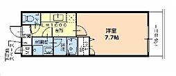 Fuji Palace パルトネールさとの1番館[2階]の間取り