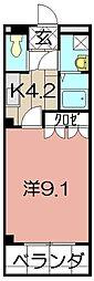 シェレン・バウム・F[301号室]の間取り