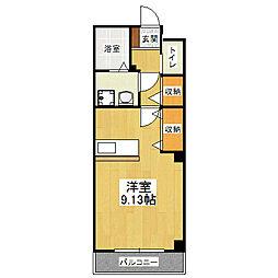 SPRING COURT[1階]の間取り