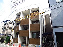 兵庫県西宮市津門呉羽町の賃貸アパートの外観
