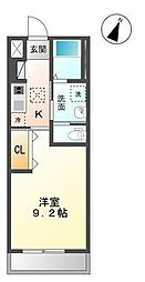 木更津市真舟5丁目新築アパート[103号室]の間取り