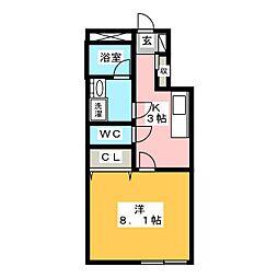 ST吉野ビル[3階]の間取り