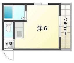 ヴィラナリー紅屋[5階]の間取り