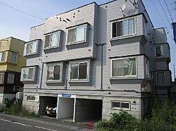AMS新富C棟[3階]の外観