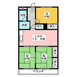 メゾン島田[7階]の間取り