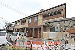 福岡県北九州市八幡西区上の原2丁目の賃貸アパートの外観